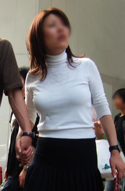 熟女街撮り 画像024