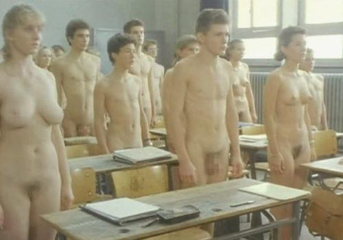 全裸教室画像 001