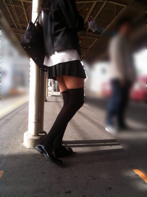 ニーソックス 街撮り画像013