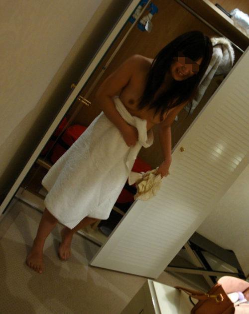素人風呂上り 画像004