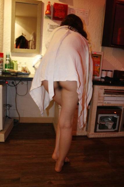 素人風呂上り 画像026