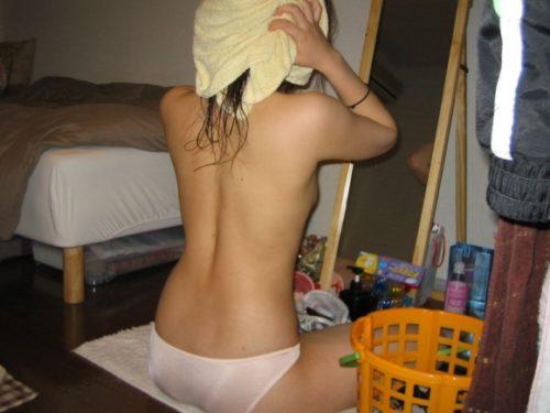 素人風呂上り 画像075