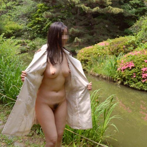 全裸コート 画像004