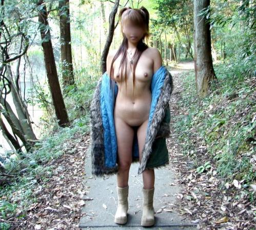 全裸コート 画像019