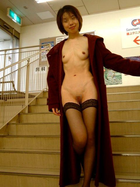 全裸コート 画像022