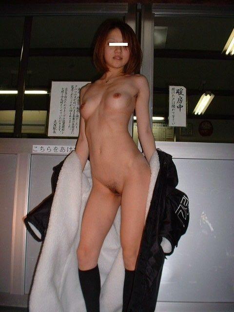 全裸コート 画像037
