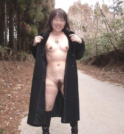 全裸コート 画像045
