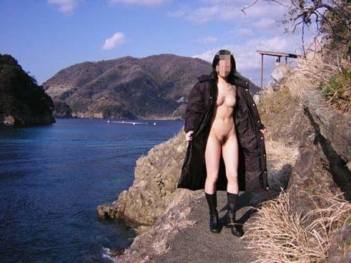全裸コート 画像081